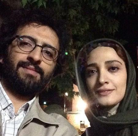 مینا ساداتی و بهروز شعیبی در پشت صحنه تنهایی لیلا+عکس