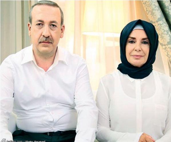 گریم نقشهای اردوغان و همسرش!+عکس
