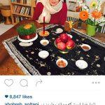 هفت سین های گلاره عباسی و شهره سلطانی+تصاویر