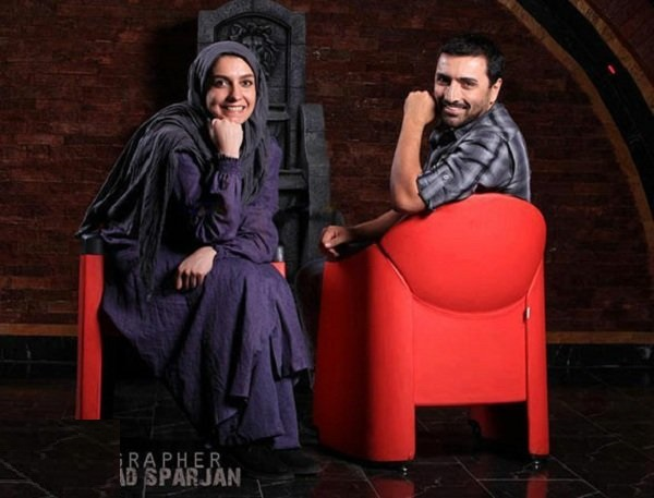 عکسهای آتلیه ای و زیبای امین زندگانی و همسرش الیکا عبدالرزاقی