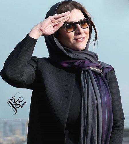 تیپ جدید سحر دولتشاهی در جشنواره سی و چهارم+تصاویر