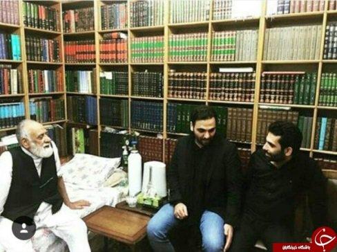 احسان علیخانی در شب عاشورا کجا بود؟ +تصاویر