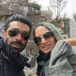 تازه ترین تصویر روناک یونسی و همسرش محسن میری+عکس