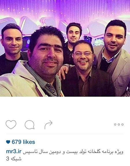 احسان علیخانی مجری برنامه پرطرفدار ماه عسل+تصاویر