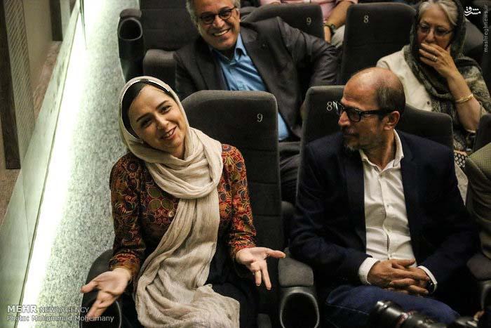 مراسم تقدیر خانه سینما از عوامل فروشنده اصغر فرهادی+ تصاویر