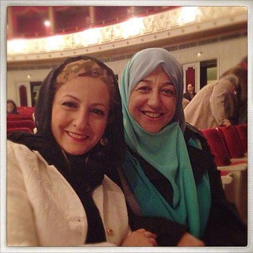 سلفی همسر محمدجواد ظریف با شقایق دهقان+عکس