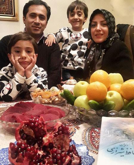 داوود عابدی و همسرش المیرا شریفی مقدم+تصاویر