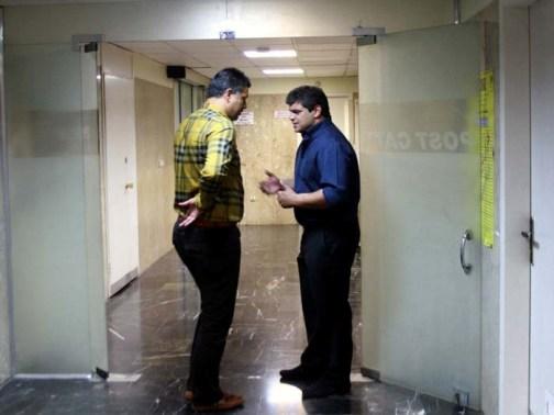 علی دایی در بیمارستان +تصاویر