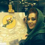 جدیدترین عکسهای نسرین مقانلو در فروردین ۹۴+تصاویر