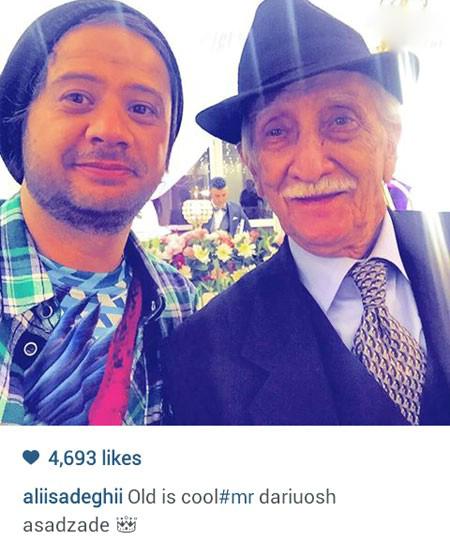 جدیدترین سلفی های علی صادقی بازیگر طنز ایرانی+تصاویر