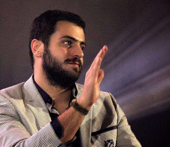 دفاع یک مجری از علی ضیا !+تصاویر