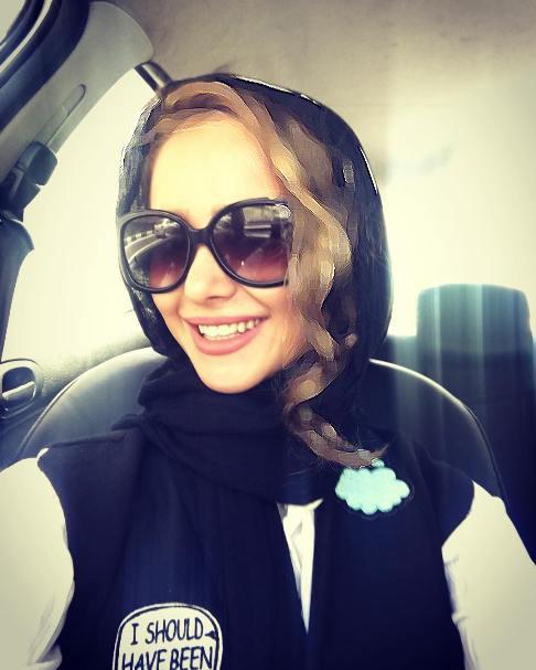 عکسهای آتلیه ای و جدید الناز حبیبی با تاجی از گل!+تصاویر