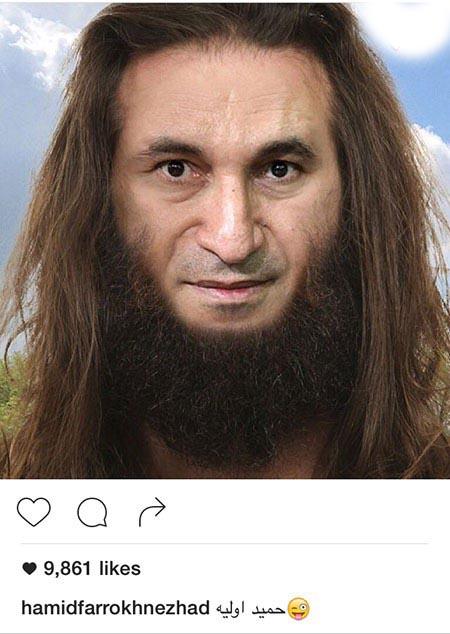 دو چهره ی متفاوت از حمید فرخ نژاد!+تصاویر