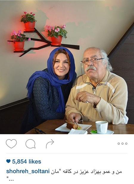 شهره سلطانی بازیگر زن کشورمان در کنار بازیگران مرد+تصاویر
