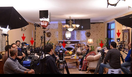 ۶ دوربین در «اتاق عمل» مهران مدیری!+ عکس