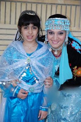 دنیای عاشقانه الهام پاوه نژاد و دخترش کردیا! +عکس