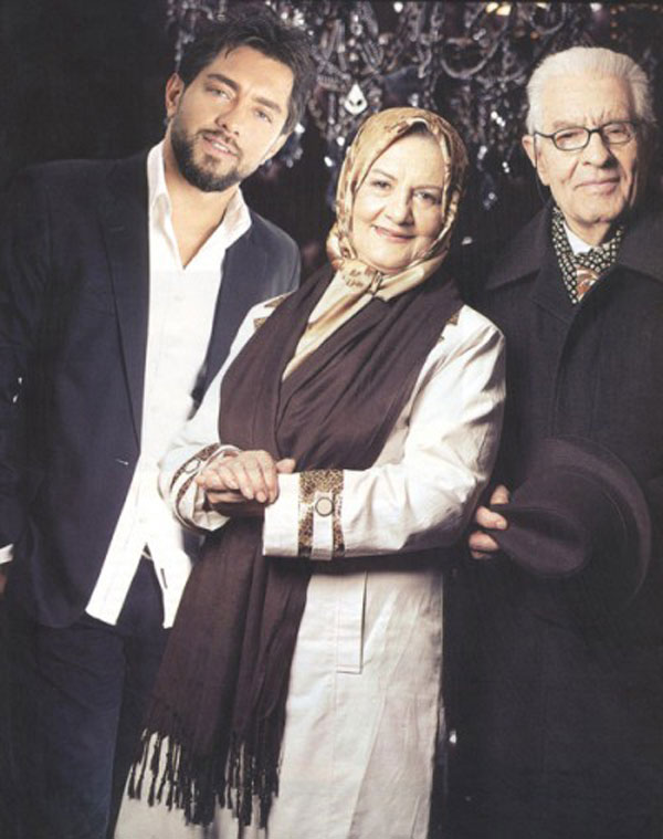 خانوادگی «بهرام رادان»+عکس