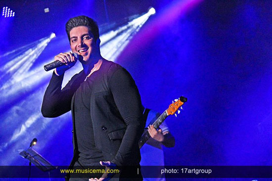 کنسرت فرزاد فرزین در کرمانشاه+تصاویر