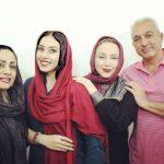 بهنوش بختیاری در کنار برادرش بهزاد و همسر و برادرزاده اش!+عکس