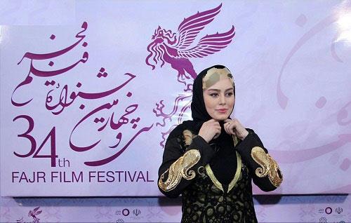 تیپ جدید سحر قریشی در جشنواره فیلم فجر!+عکس