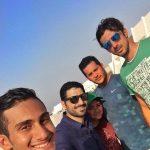 سلفی خیرابی در کنار مداح معروف! +عکس
