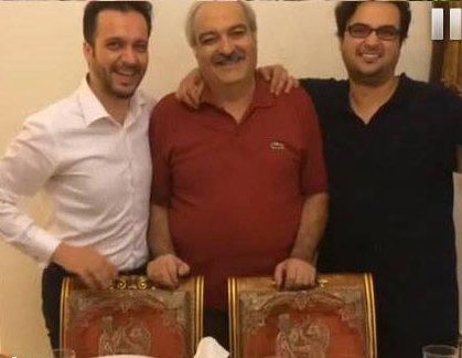 مهدی و محمد سلوکی در کنار پدرشان! +عکس