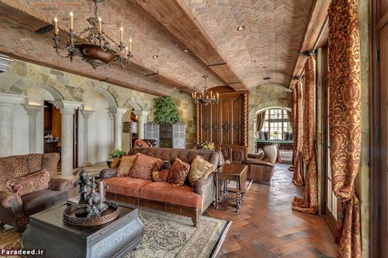 فروش قصر رویایی آنجلینا جولی و برد پیت در فرانسه!+تصاویر
