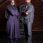 شکایت امین زندگانی از مزاحم همسرش الیکا عبدالرزاقی+تصاویر