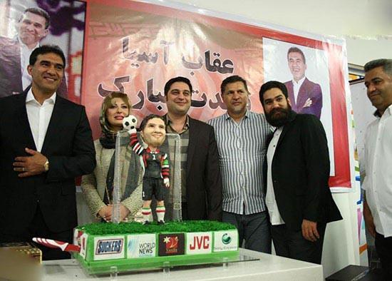 تولد احمدرضا عابدزاده با حضور بازیگر زن معروف!+عکس