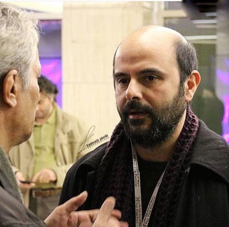 لیلا حاتمی و همسرش علی مصفا در محل جشنواره فجر+تصاویر