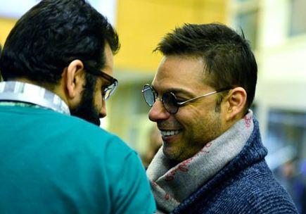 خنده های پیمان معادی بازیگر توانای سینما در کاخ جشنواره+تصاویر