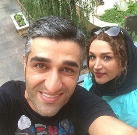 سلفی پژمان جمشیدی و خواهرش+عکس