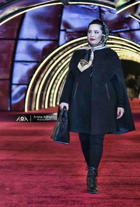 پوشش بازیگران مشهور زن در کاخ جشنواره فیلم فجر امسال+تصاویر