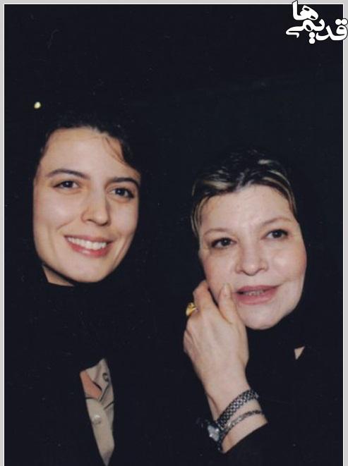 لیلا حاتمی در کنار مادرش/عکس