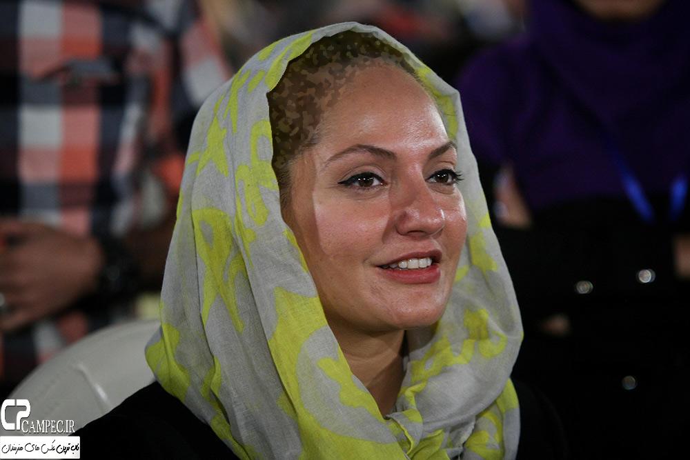 مهنا افشار و همسرش در جشن روز ملی سینما در سال ۹۴+تصاویر