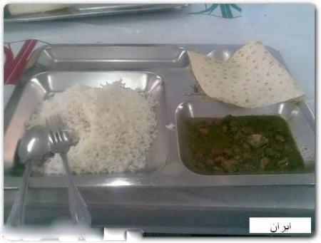 تصاویر:مقایسه غذای دانشجوایرانی با سایر دانشگا های دنیا