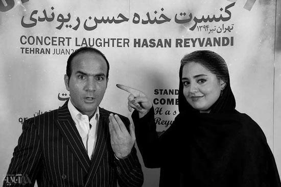 نرگس محمدی در کنسرت خنده حسن ریوندی+عکس