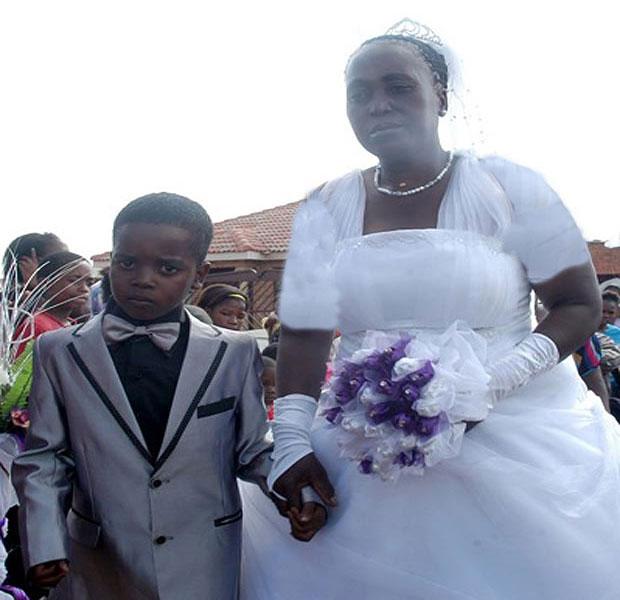 ازدواجی نادر و در نوع خود جالب!+ عکس