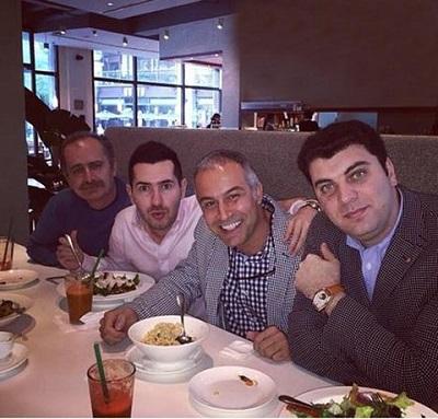 دانیال حکیمی و رفقا در رستوران چینی در شانگهای! +عکس