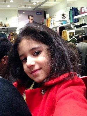 دختر نادر سلیمانی و اولین «سلفی» زندگیاش!+عکس