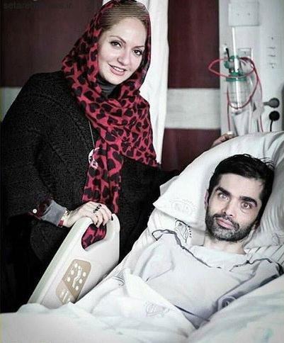 مهناز افشار و عیادت از سیاوش حکمت شعار+عکس