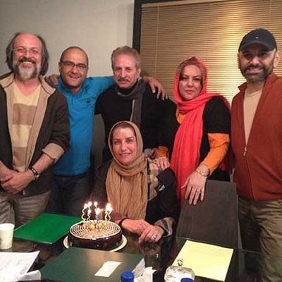 فریبا کوثری در جشن تولد ۴۸سالگی اش! +عکس