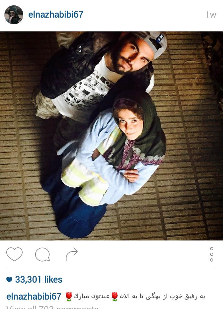 الناز حبیبی بازیگر جوان کشورمان و عکسهای زیبایش+تصاویر