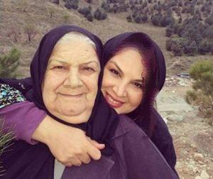 تصویری زیبا از شهره سلطانی و مادرش+عکس