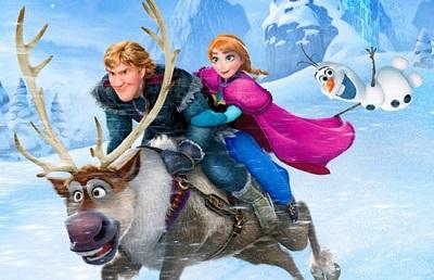 """تصاوری جذاب از انیمیشن """"یخ زده"""" ، دهمین فیلم پرفروش تاریخ سینما!"""