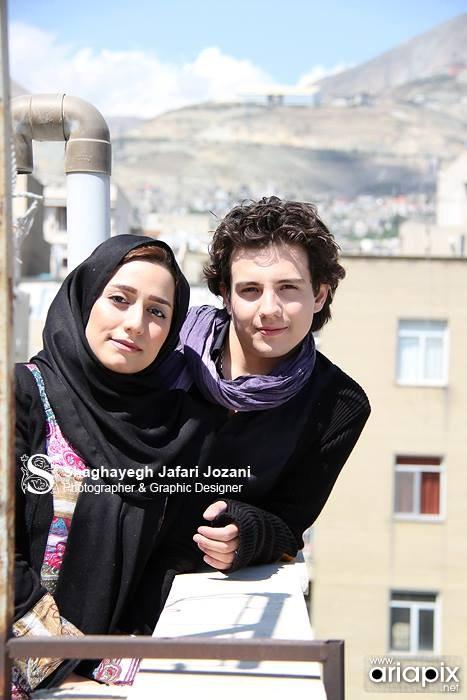 امیر کاظمی و همسرش مهتاب محسنی+عکس