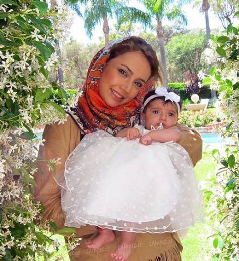شبنم قلی خانی سرانجام عکس دخترش شانا را منتشر کرد!+عکس