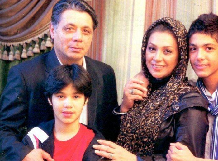 علاقه ی نسرین مقانلو بازیگر زن سینما و تلویزیون به همسرش+تصاویر خانوادگی