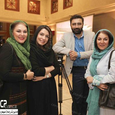 عکس های جمعی از بازیگران در شب عید دیدنی در میلاد نور+تصاویر