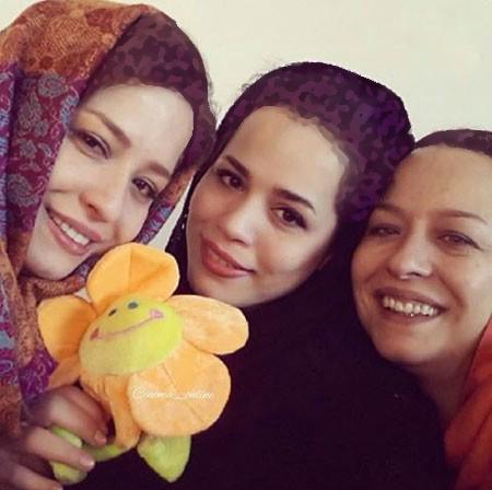 جدیدترین عکسهای ملیکا شریفی نیا و خانواده اش+تصاویر